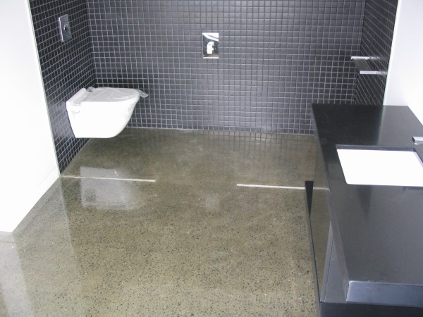sealing bathroom floor traditional polished concrete floors 14370